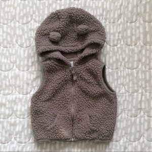 4/$15! Carter's | Baby Boy/Girl hooded fleece vest